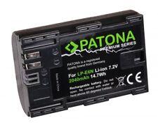Batteria PATONA Canon LP-E6N Premium 2040mAh per Canon EOS 6D Mark II