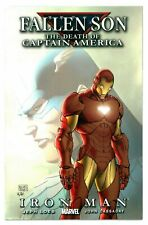 1)FALLEN SON:DEATH CAPTAIN AMERICA:IRON MAN(TURNER CVR/CIVIL WAR)CGC WORTHY(9.8)
