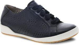 Dansko Women's Orli Sneaker, Black, 37 M EU (6.5-7 M US