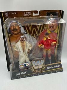 2010 Mattel WWE Legends Iron Sheik Nikoli Volkoff Action Figure NEW IN BOX