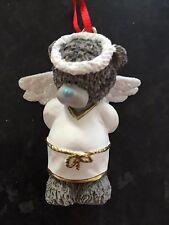ME TO YOU TATTY TEDDY BEAR XMAS TREE HANGING DECORATION - WHITE ANGEL