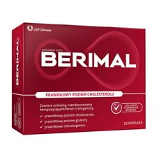 Berimal  30 caps. supporting normal cholesterol levels