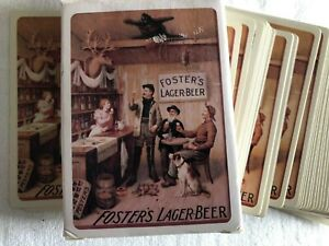 Full Pack Of Fosters Lager Beer Promotional Playing Cards