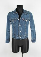 Levis Jeans Women Denim Jacket Size S, Genuine