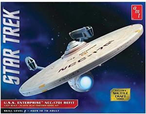 AMT 1:537 Star Trek Uss Enterprise Refit, #R2AMT1080