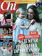Chi 2017 20.Kate Middleton,Ambra Angiolini,Charlie Hunnam,Britney Spears,Elisa,k