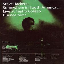 Steve Hackett - Somewhere in South America [New DVD]