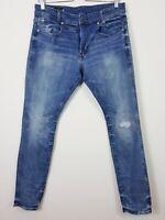 G STAR RAW Mens Size 32 D-Staq 5-Pocket Skinny Denim Jeans (Aus Seller)