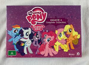 My Little Pony - Friendship Is Magic Season 4 DVD 2015 4-Disc Set