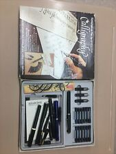 Lot of Italic Calligraphy Pens, Nibs And Ink