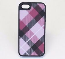 SPECK iPhone SE/5/5s Case FABSHELL Cover Shell Megaplaid Mulberry