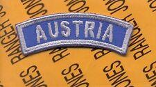 US Army AUSTRIA Occupation tab arc patch