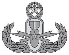 Master Explosive Ordnance Disposal (EOD) Badge Decal