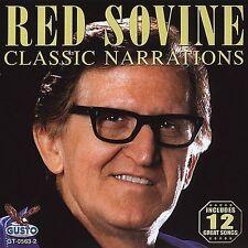 New: Sovine, Red: Classic Narrations CD Audio CD