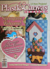 Plastic Canvas Crafts Magazine - 15 New Projects -  February 1999
