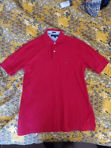 Tommy Hilfiger Men's Polo Shirt Size Large