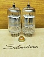 RCA  Silvertone  12ax7  Vacuum Tube Pair Matched Tested Strong