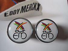 Vintage style Eddy Merckx Handlebar End Plugs