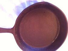 Vintage Cast Iron 10 in diameter  fry pan with heat rings Taiwan