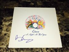 Queen Brian May Rare Signed Autographed Vinyl LP Record A Night At The Opera