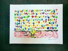 Tom Everhart Tweet Tweet Hand Signed Lithograph Woodstock 24/500 S2 Art