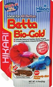 HIKARI BETTA BIOGOLD 0.70 OZ BAG BIO GOLD FOOD. TO THE USA