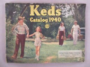 Keds CATALOG - 1940