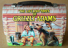 Vintage 1977 Grizzly Adams Dome Metal Lunchbox and Thermos