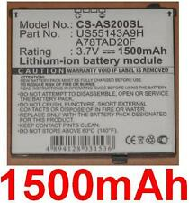 Batterie 1500mAh Pour Acer F1, neoTouch S200, type A78TAD20F US55143A9H