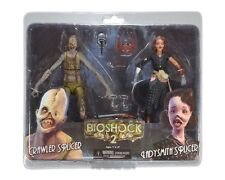 "BIOSHOCK 2 - Crawler Splicer & Ladysmith Splicer 7"" Action Figure 2-Pack (NECA)"