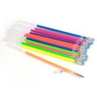 48pcs Glitter Gel Ink Pen Refills for Gel Pens, Highlighter Metallic Neon S F9Q6