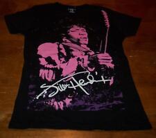 WOMEN'S TEEN JR'S JIMI HENDRIX PURPLE HAZE T-shirt MEDIUM NEW