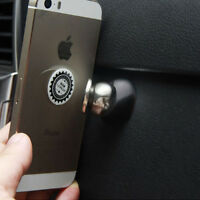 1pc Black Magnetic Mobile Phone Holder Car Mount 360 Mobile for Iphone Universal