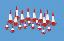 Traffic Cones (Large & small) - OO/HO Accessories Model Scene 5008 - free post