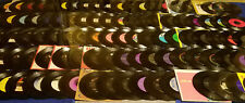 HUGE 45RPM RECORD (187 PC) LOT (1950s-70s) ROCK-COUNTRY-ELVIS INSTANT COLLECTION