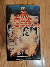 FEAR NO EVIL 1981 Embassy Beta BETAMAX--Horror