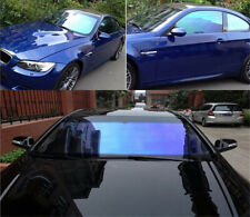 80% Transmission Blue Chameleon Glass Car Window Tint Nano Tint Solar Protector