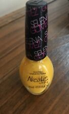 Nicole by OPI Nail Polish Yellow SELENA GOMEZ Collection HIT THE LIGHTS -SEALED