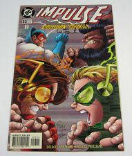 Impulse #53 Signed by Wayne Faucher! DC COMICS 1999 THE FLASH CW TV SHOW