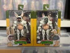 NECA Lootcrate TMNT Bebop and Rocksteady Bunny Suit Teenage Mutant Ninja Turtles