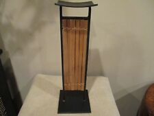 Pier 1 Bamboo Candle Holder (1)