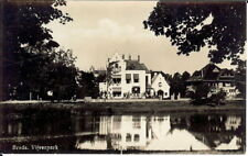HOLLAND: Breda, The Pond Park - B/W RP - Unposted c.1950's