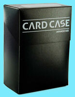 ULTIMATE GUARD JAPANESE SIZED SMALL BLACK DECK CASE CARD STORAGE BOX yugioh 60+