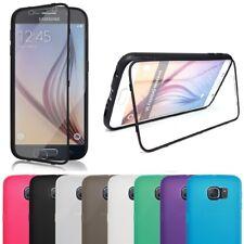 Handy Tasche für Samsung Galaxy Flip Cover Case Schutz Hülle Etui Schale Bumper