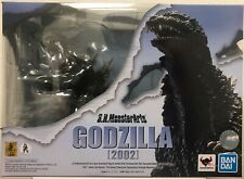 S.H MonsterArts Godzilla 2002 Action Figure Bandai Tamashii Nations NEW