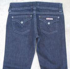 Hudson Signature Bootcut Jeans w Flap Pockets Dark Blue Sz 28