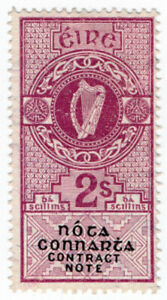 (I.B) Ireland Revenue : Contract Note 2/-