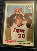 1978 Topps Nolan Ryan California Angels #400 Baseball Card