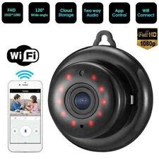 1080P HD Mini IP CCTV Camera Wireless WiFi Indoor/Outdoor CAM Home Security IR
