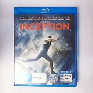 Inception Movie Bluray Free Postage Blu-ray - Action Thriller
